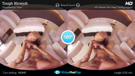 Tough Blowjob VR Porn video.