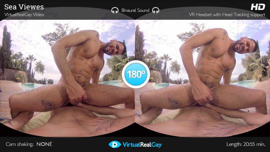 Hi Gay VR Porn fans! Antonio Miracle and Mario Domenech are a match made in heaven. They're spending the weekend in Antonio's Sitges mansion thinking in go to the beach when it starts raining.