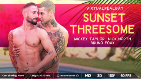 Sunset threesome