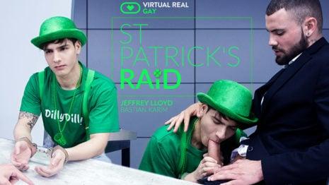 St. Patrick's raid