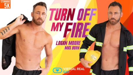 Turn off my fire VR Porn video.