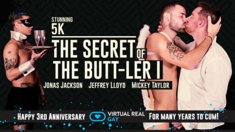The secret of the butt-ler I